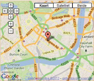 easyhotel victoria map