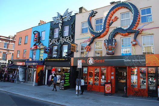gevels in camden town