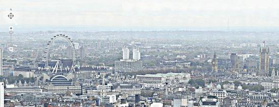 320 gigapixel foto Londen