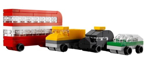 lego tower bridge cars